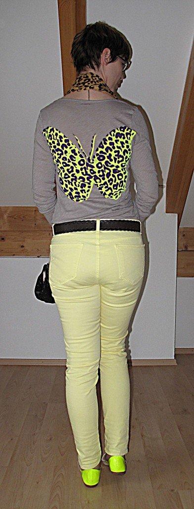 Gelbe Hose & Butterfly