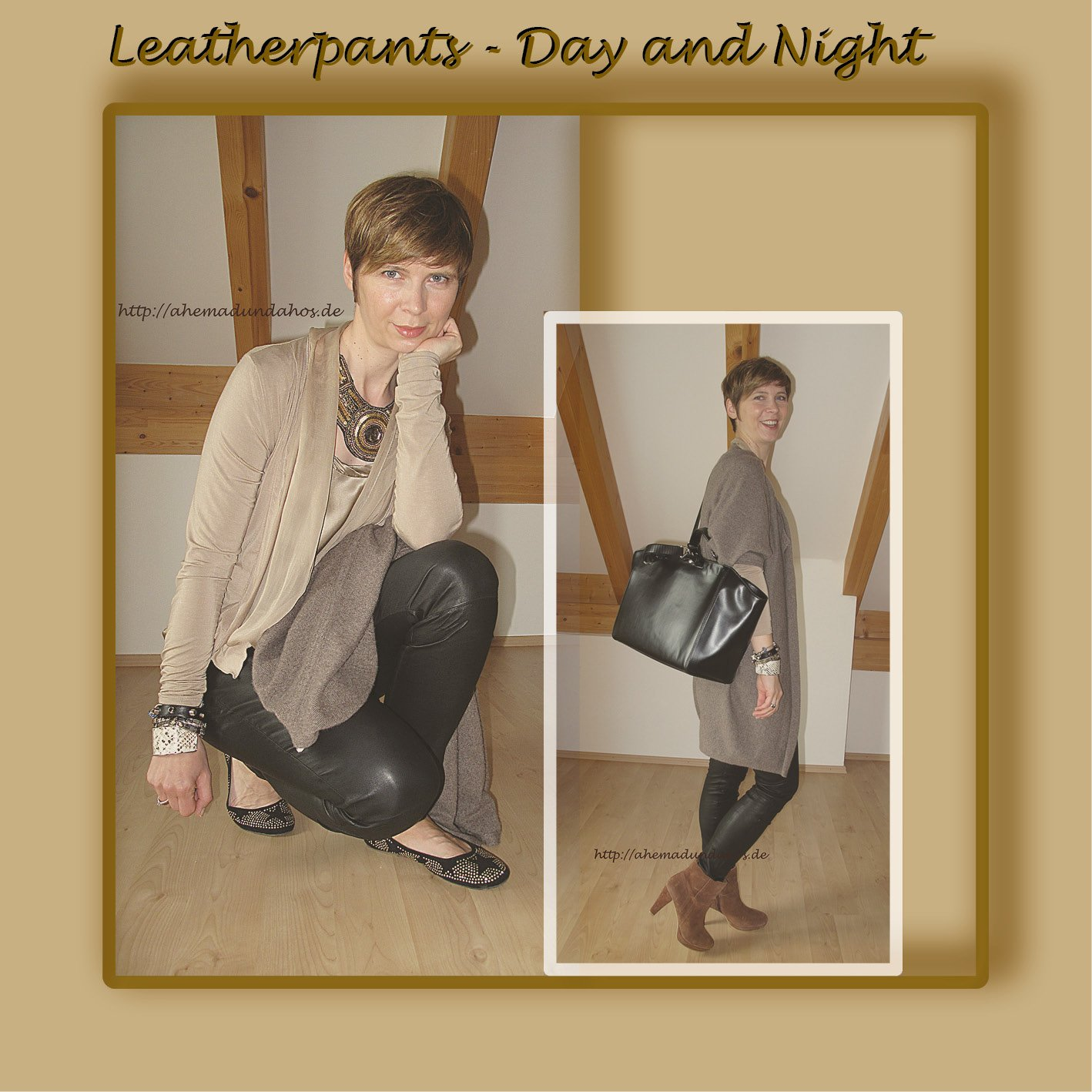 Leatherpants - Day and Night