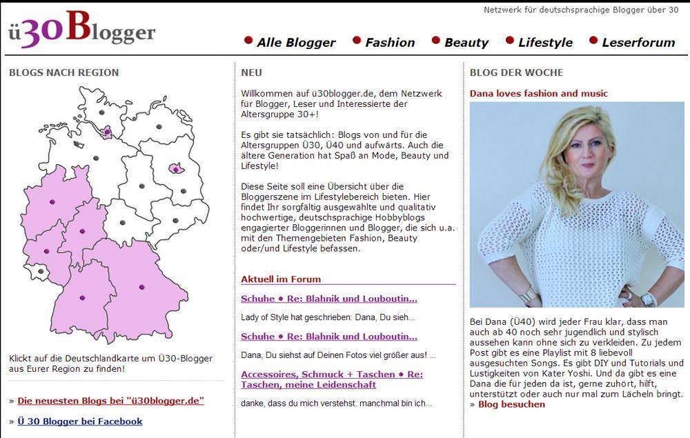 Startseite Ü 30 Blogger