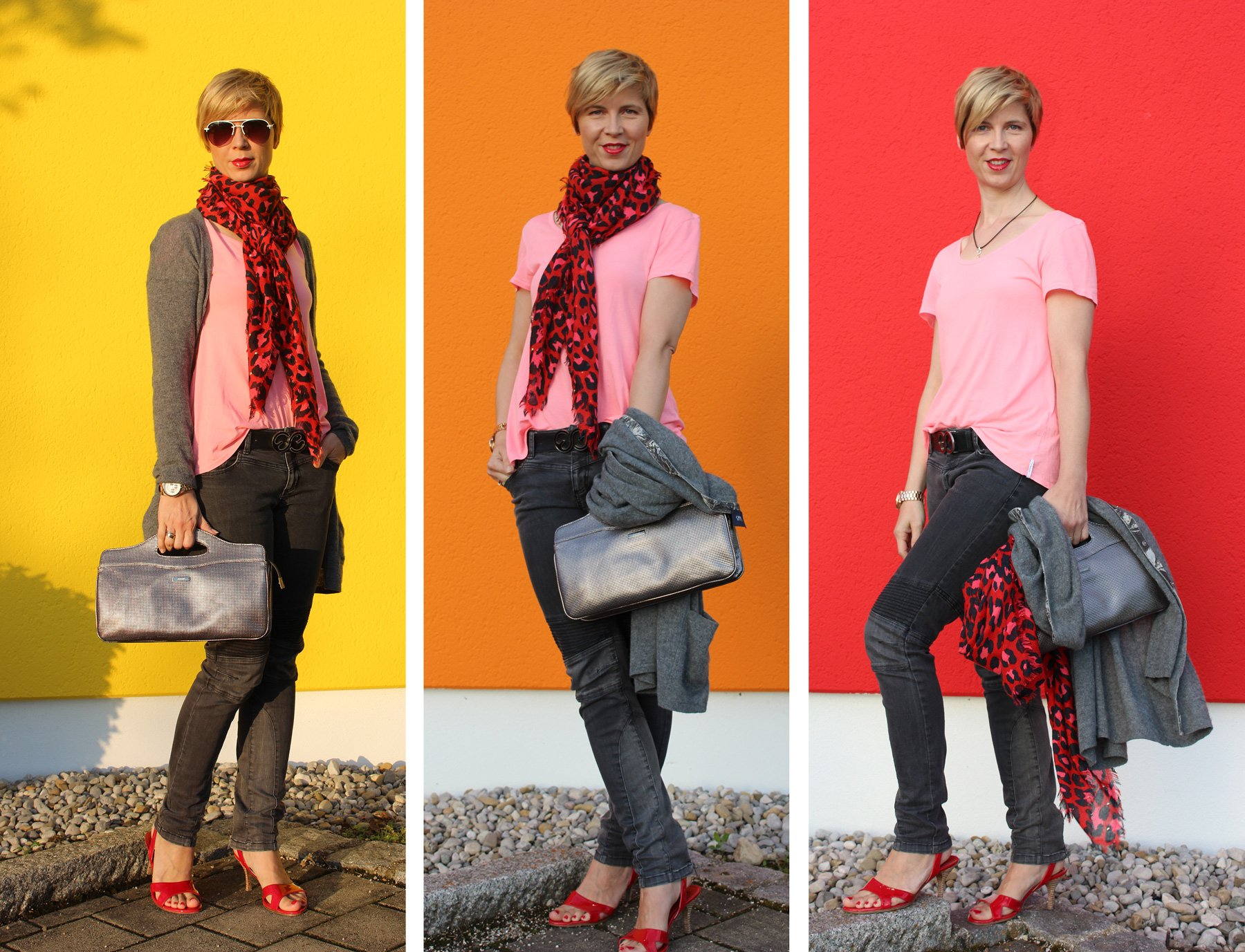 Collage_OnlyJeans_OrwellCardigan_81hoursShirt_JetteJoopSandals_scarfHM,JoopBag_Collage