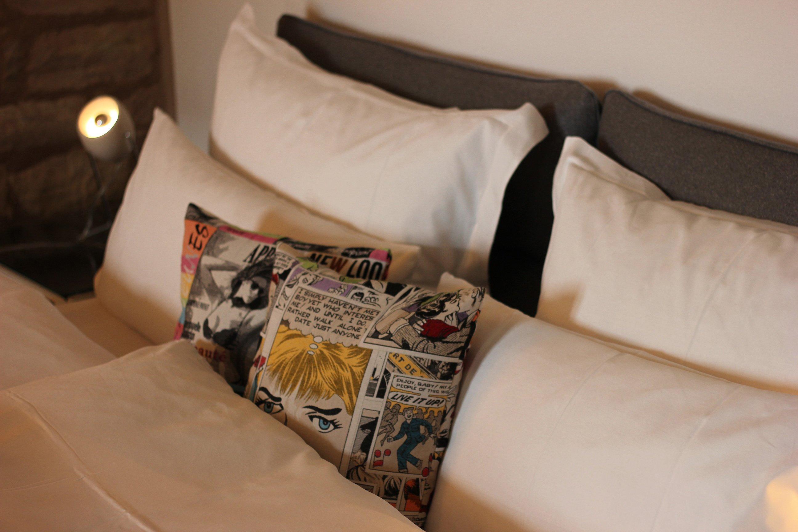 Das Bett in der Bude