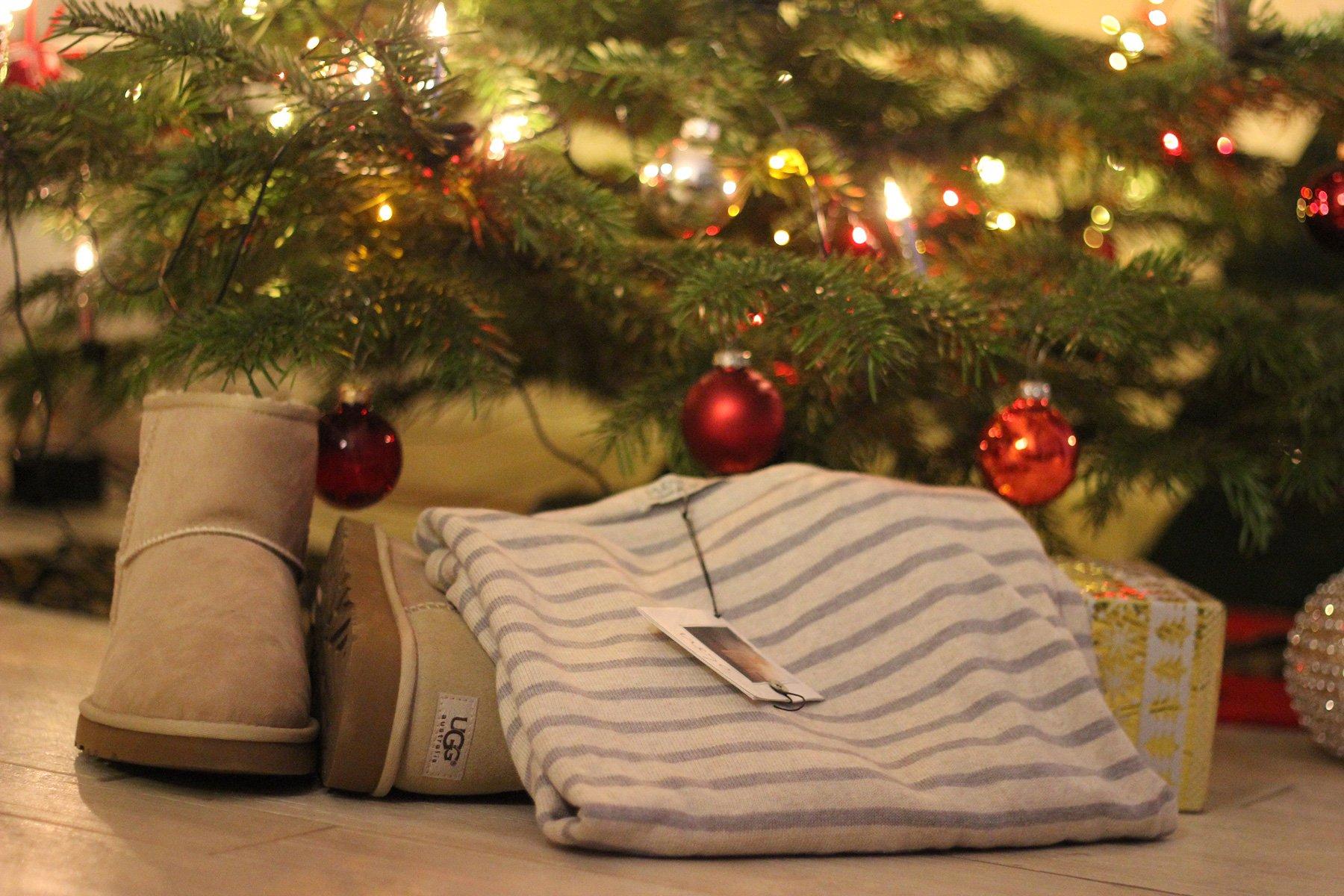 meine Weihnachtsgeschenke... und farblich so stimmig....