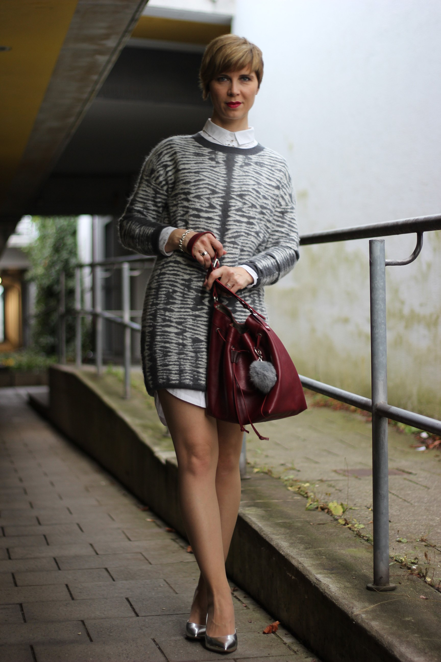A Writing Block and My Knit Dress from all Saints