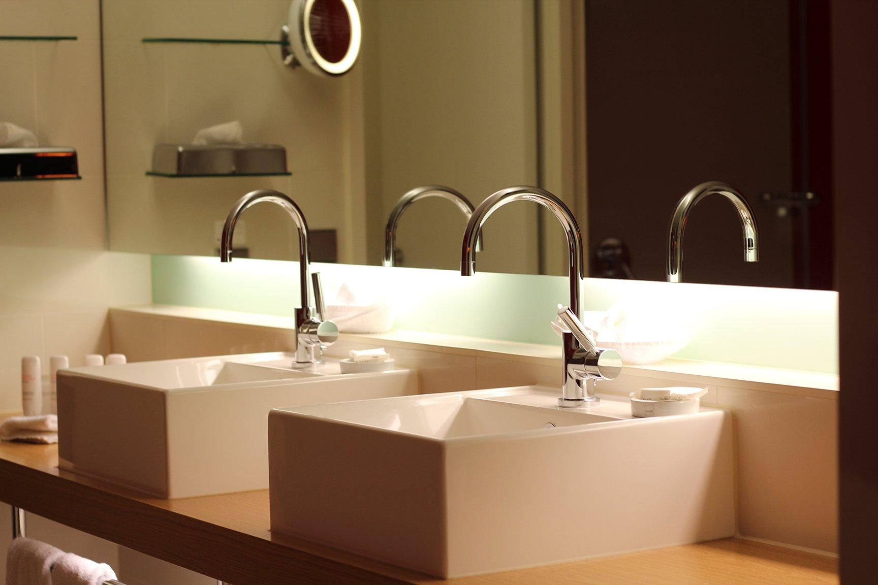 Stylische badezimmer hausgestaltung ideen