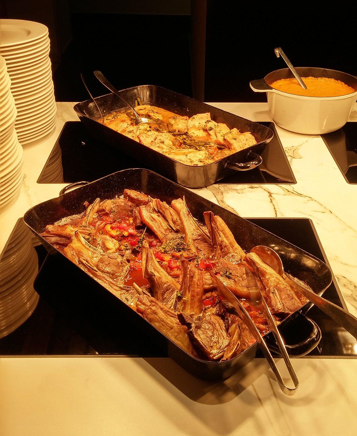 Abendessen Buffet