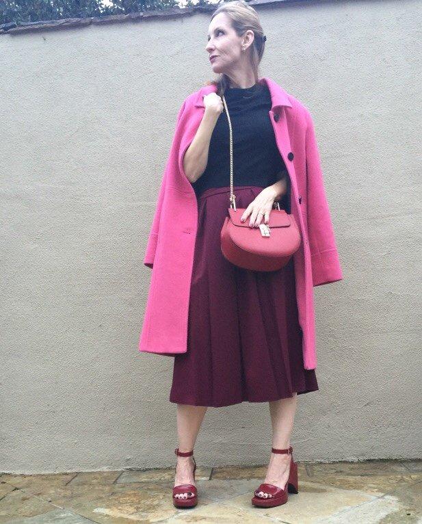 rot und pink, Dawn Lucy fashionshouldbefun