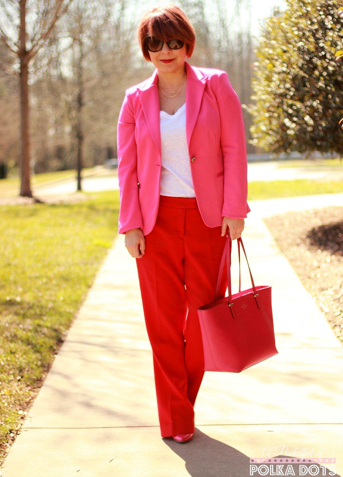Rot und pink - Jennie