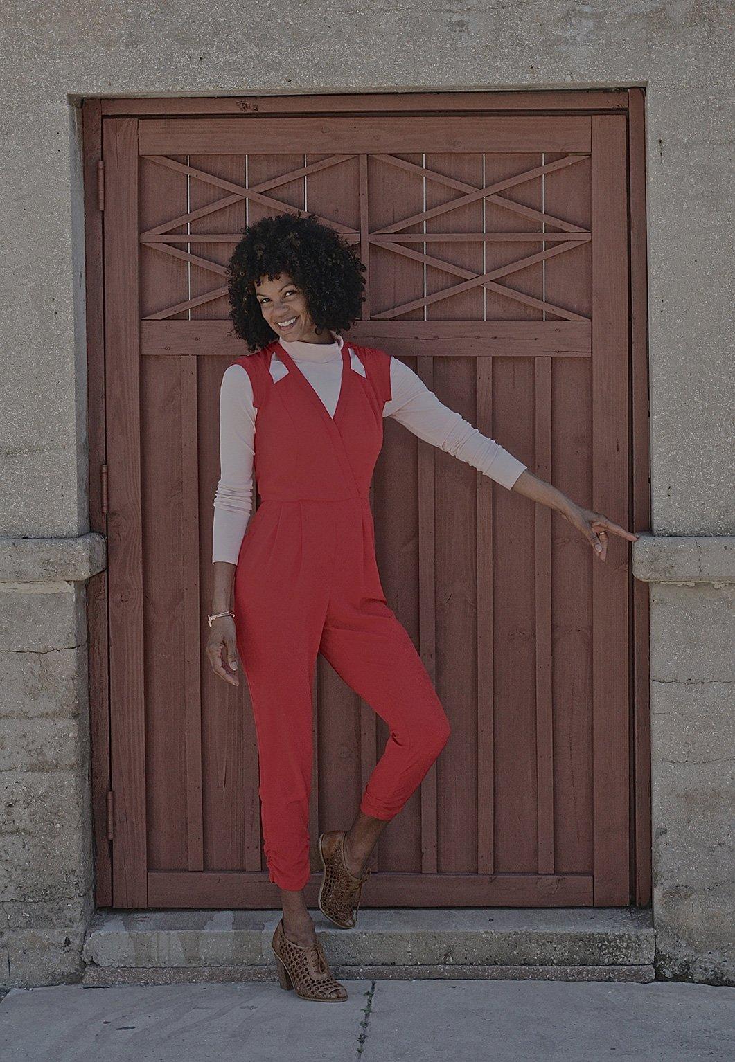 Diane-rot und pink- Fashion on the 4th Floor