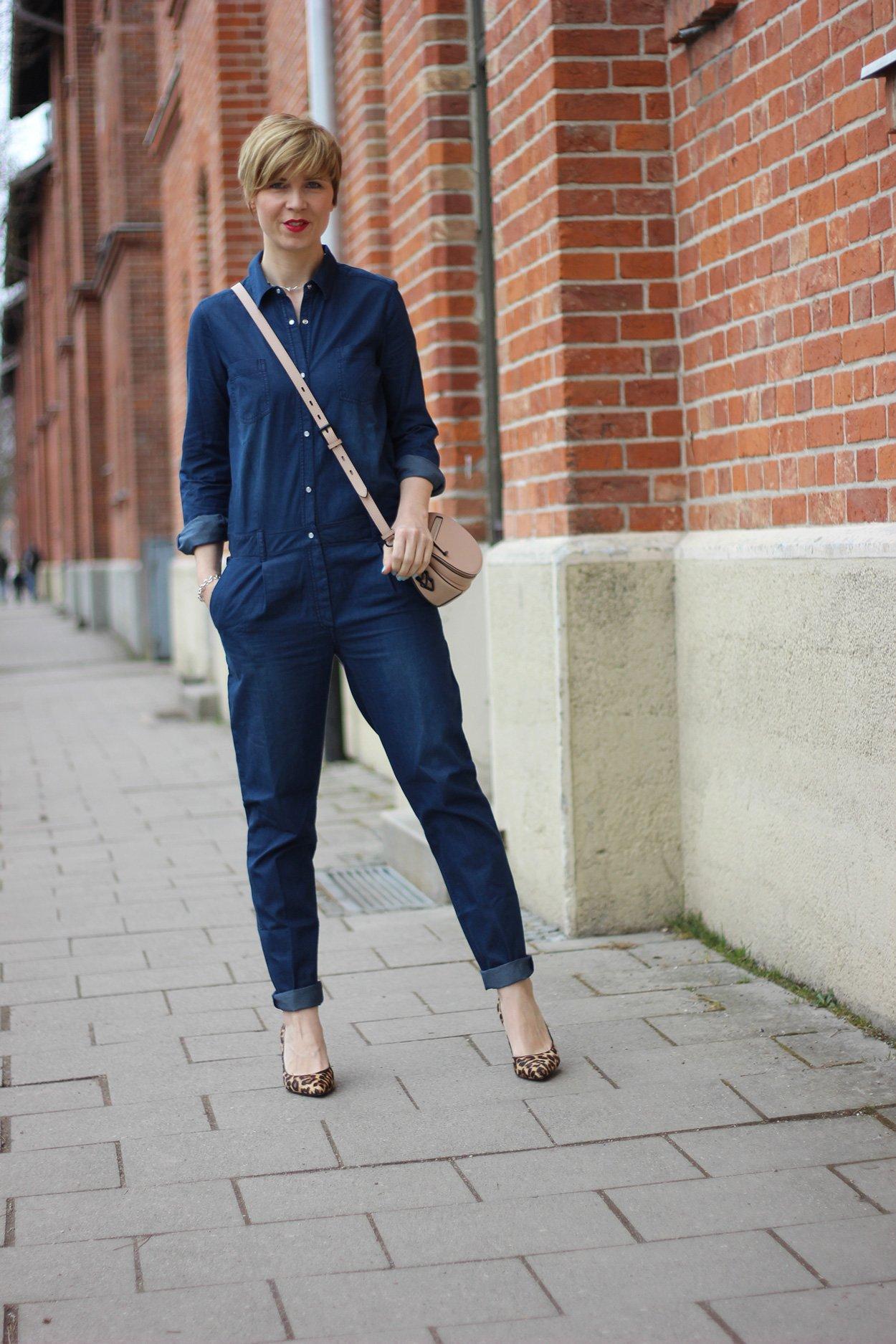 Tchibo Frühlingskollektion: Jeansjumpsuit, denim,