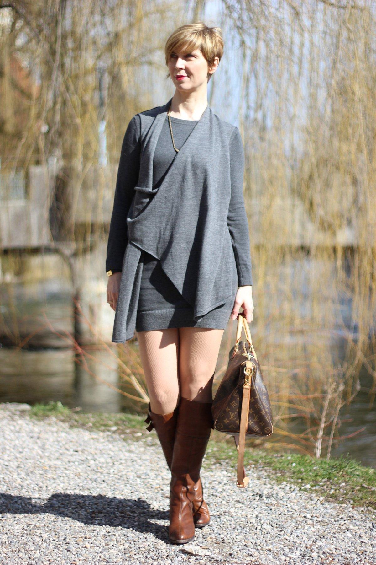 Frye Boots, Allstains Kleid, Frühling