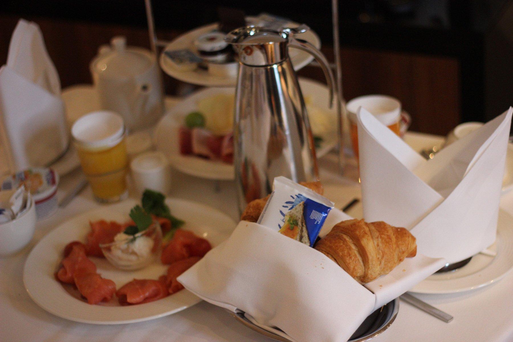 Radisson Blu - Frühstück ans Bett