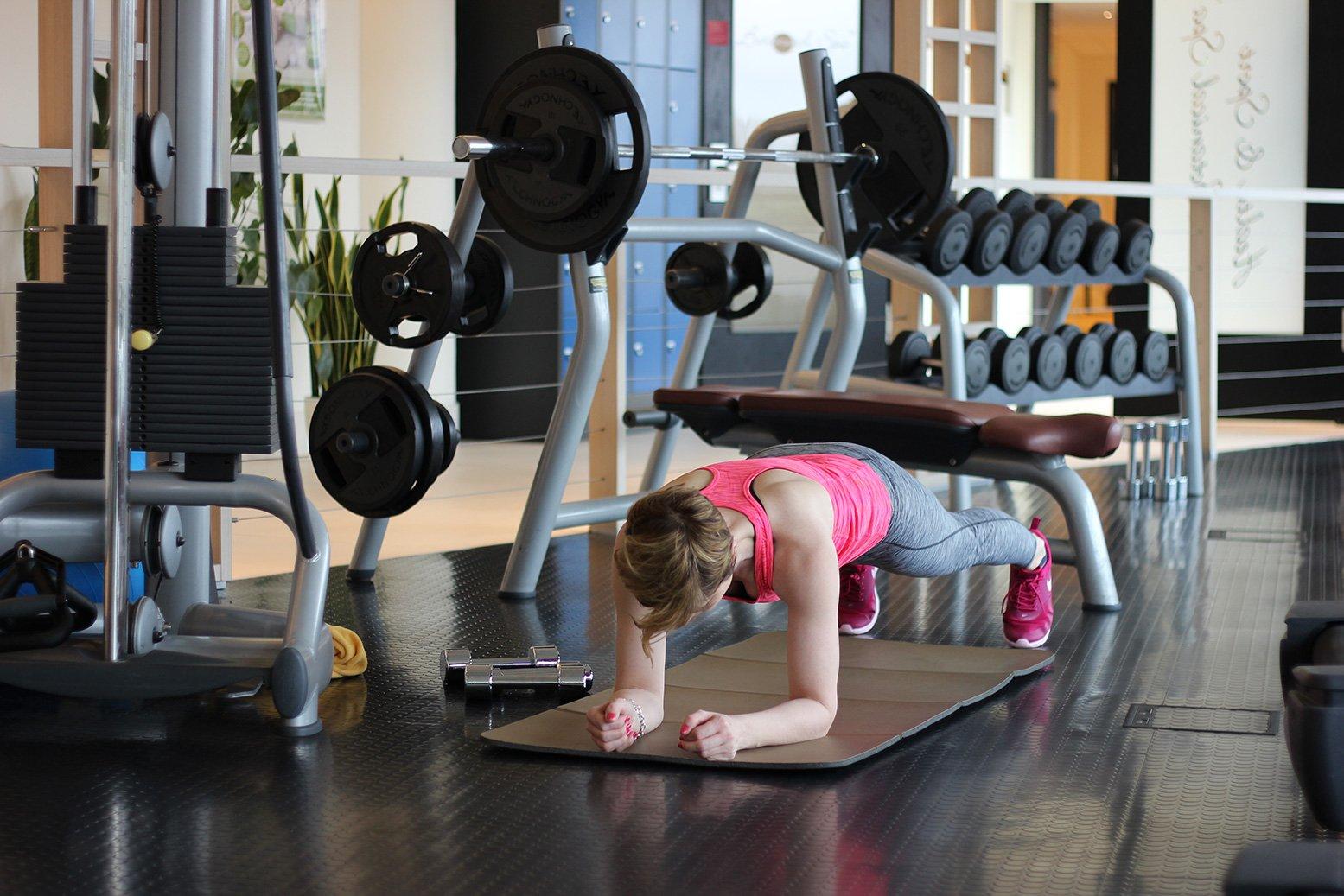 Tipps für ein Training zu Hause mit YouTube, Plank