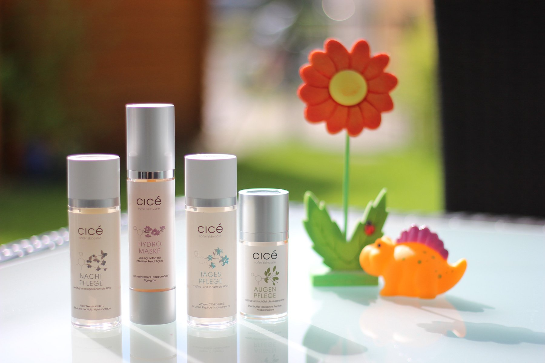 Cicé, Produkte, Augenpflege, Hydromaske, Tagespflege, Nachtpflege