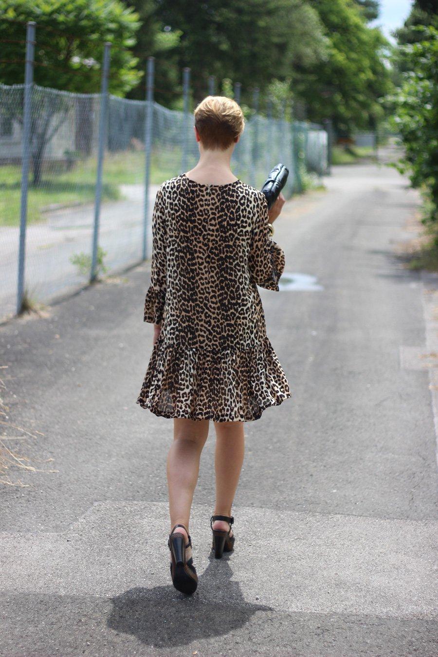 Leo-Kleid, Ganni, Conny Doll, Party, Fashionblog, Munichblogger