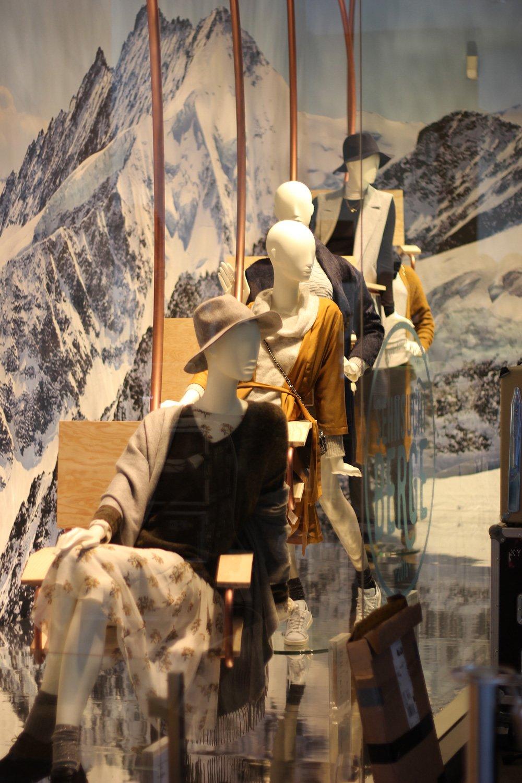 Schaufenster, Konen, Herbst, Winter, Sehnsucht Berge