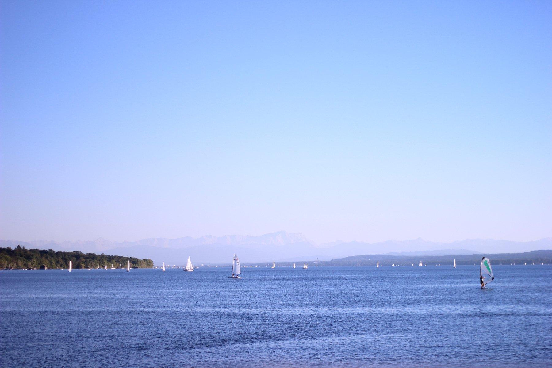 Ammersee, Lake, Sommer, Summerfeeling, Natur