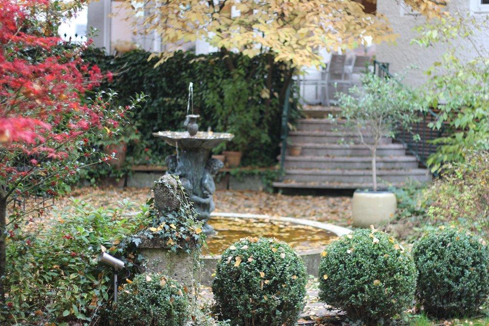 Salzburg, Sightseeing, Ausflug, Wochenende, Conny Doll, Sehenswürdigkeiten, Hotel Auersperg, Garten