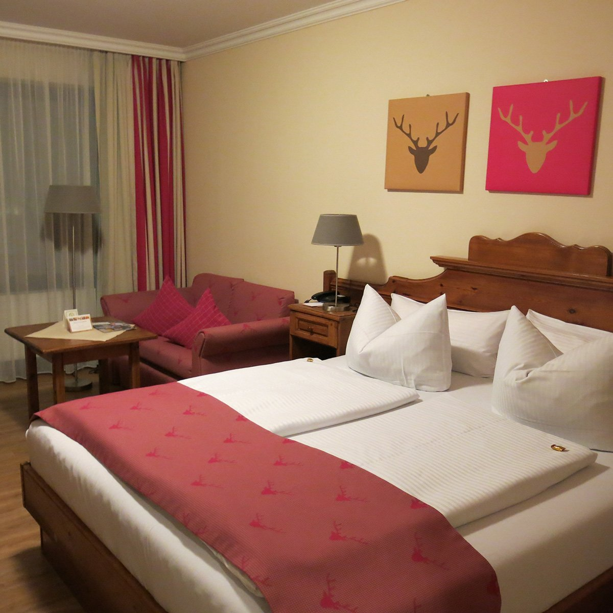 Doppelzimmer, Hotel 3-Quellen-Therme, Bad Griesbach, Wellness, Beauty, Conny Doll Lifestyle