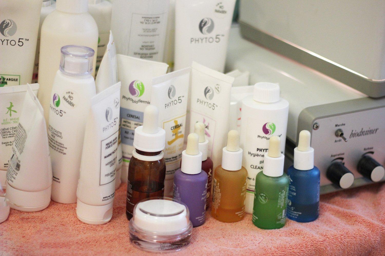 Freundinnen-Tage in Bad Griesbach, Drei Quellen Hotel, Beauty-Anwendung, Kosmetik, Wohlfühlen, Phytobiodermie, Produkte