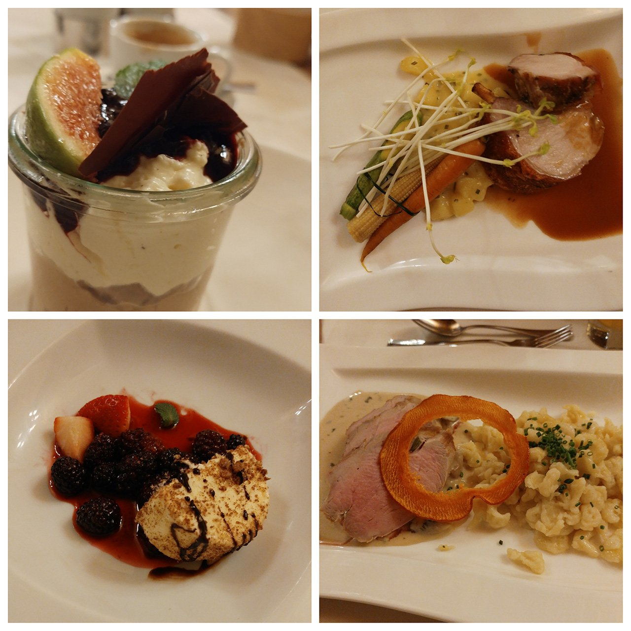 Abendessen, Menue, Hotel 3Quellen-Therme, Bad Griesbach, Wellness, Beauty, Conny Doll Lifestyle