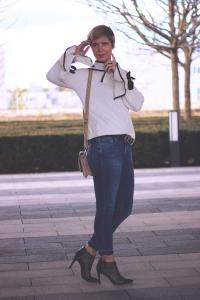 Trompetenärmel und Schleifen, Skinny, Only, FredsBruder, Tasche, Mango, 7/8-Jeans, Conny Doll, Fashion, Trend