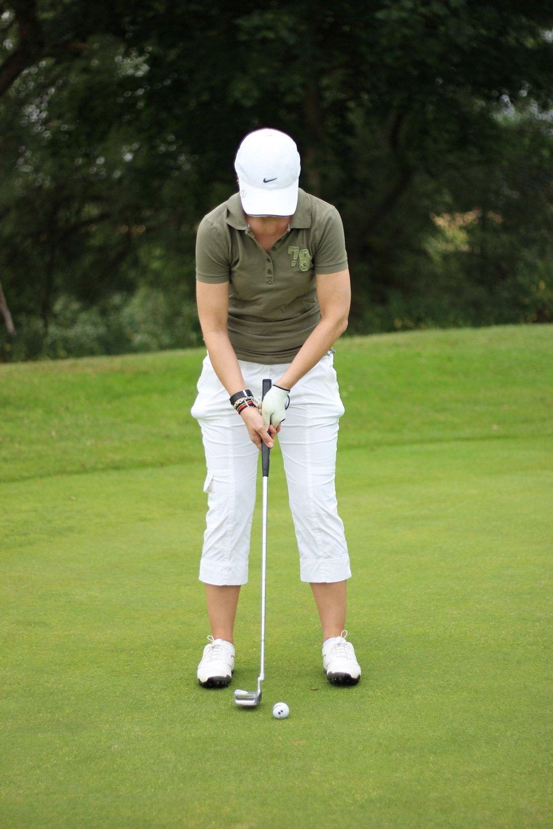 Golfclub Sagmühle, Conny Doll spielt Golf, Putten