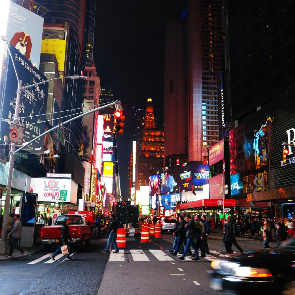 Times Square, New York, City Trip, HVB Exklusivkonto, Sightseeing