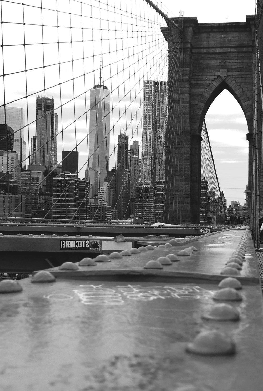 HVB Exklusivkonto, Brooklyn Bridge, View, Aussicht, New York