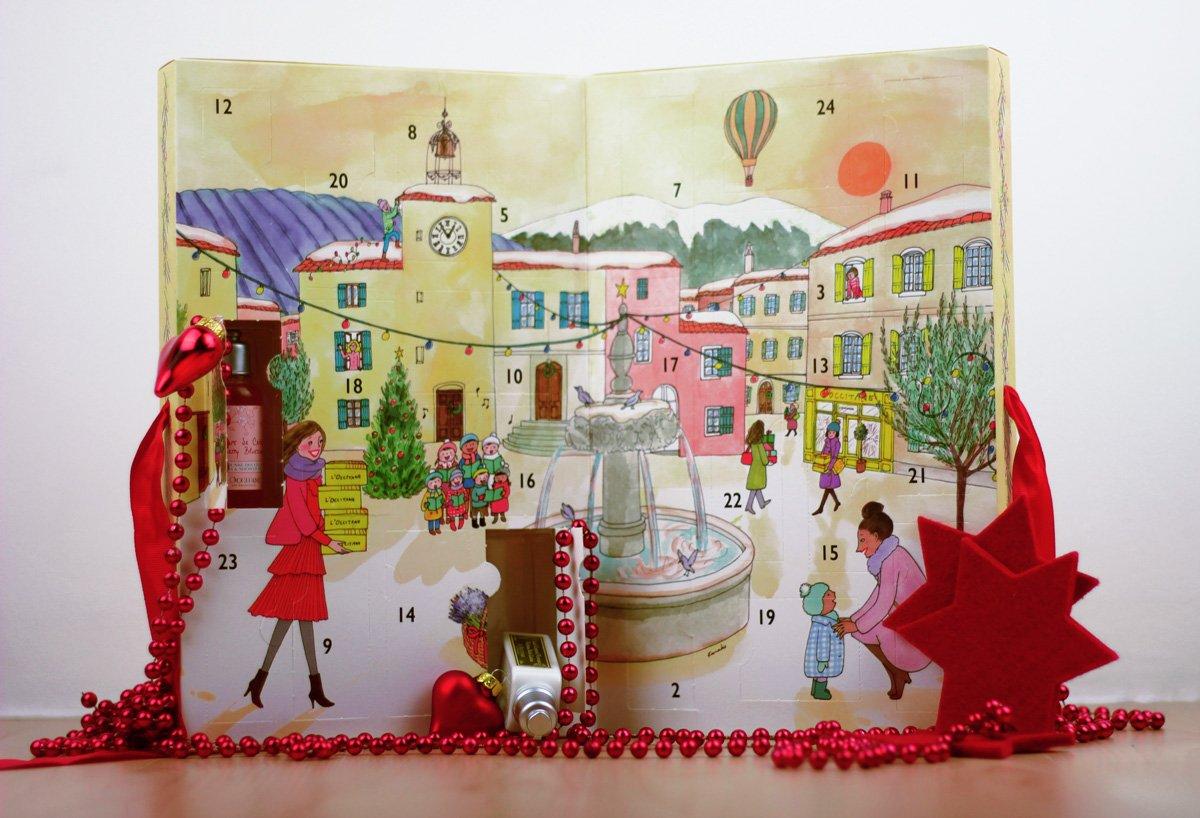 Adventskalender von L'Occitane, Gewinnspiel, Weihnachten2017