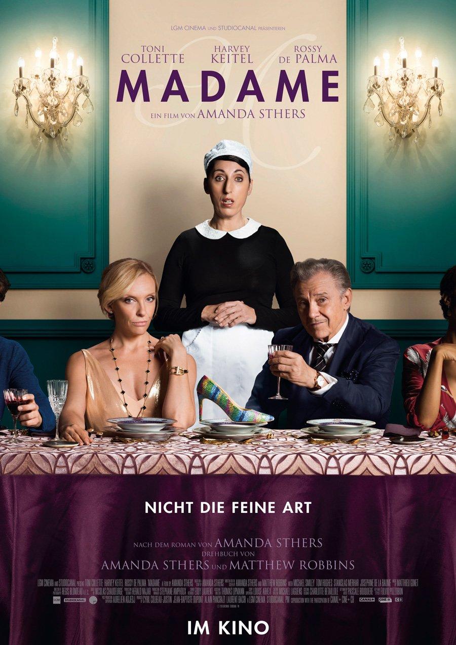 Kinoplakat Madame mit Toni Collette, Harvey Keitel und Rossy de Palma