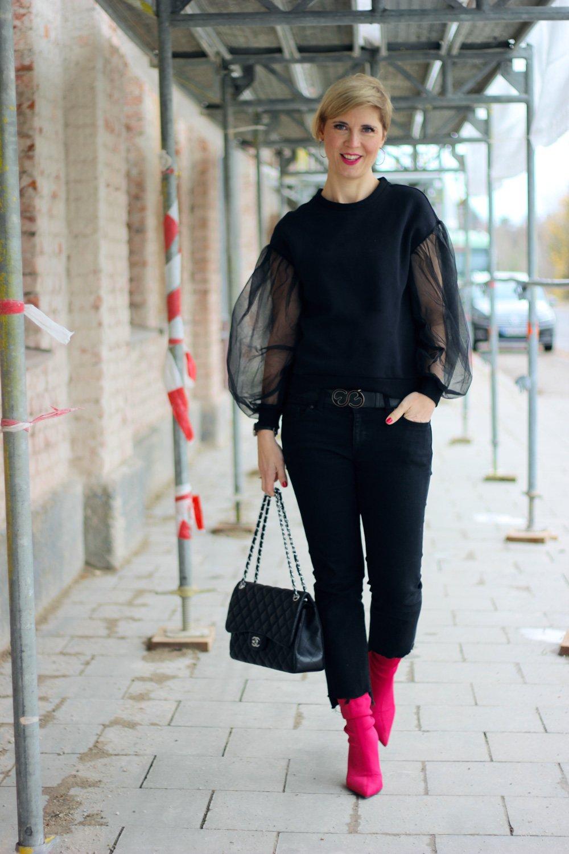 Shoemates, Crowdundprojekt, #getonegiveone, Tüllärmel, Mantel, blackallover,