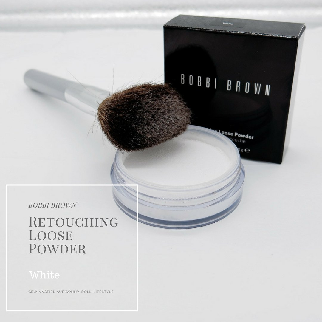 Conny-Doll-Lifestyle: Blog, Geburtstag, Bobbi Brown, Gewinnspiel, Retouching Loose Powder, White