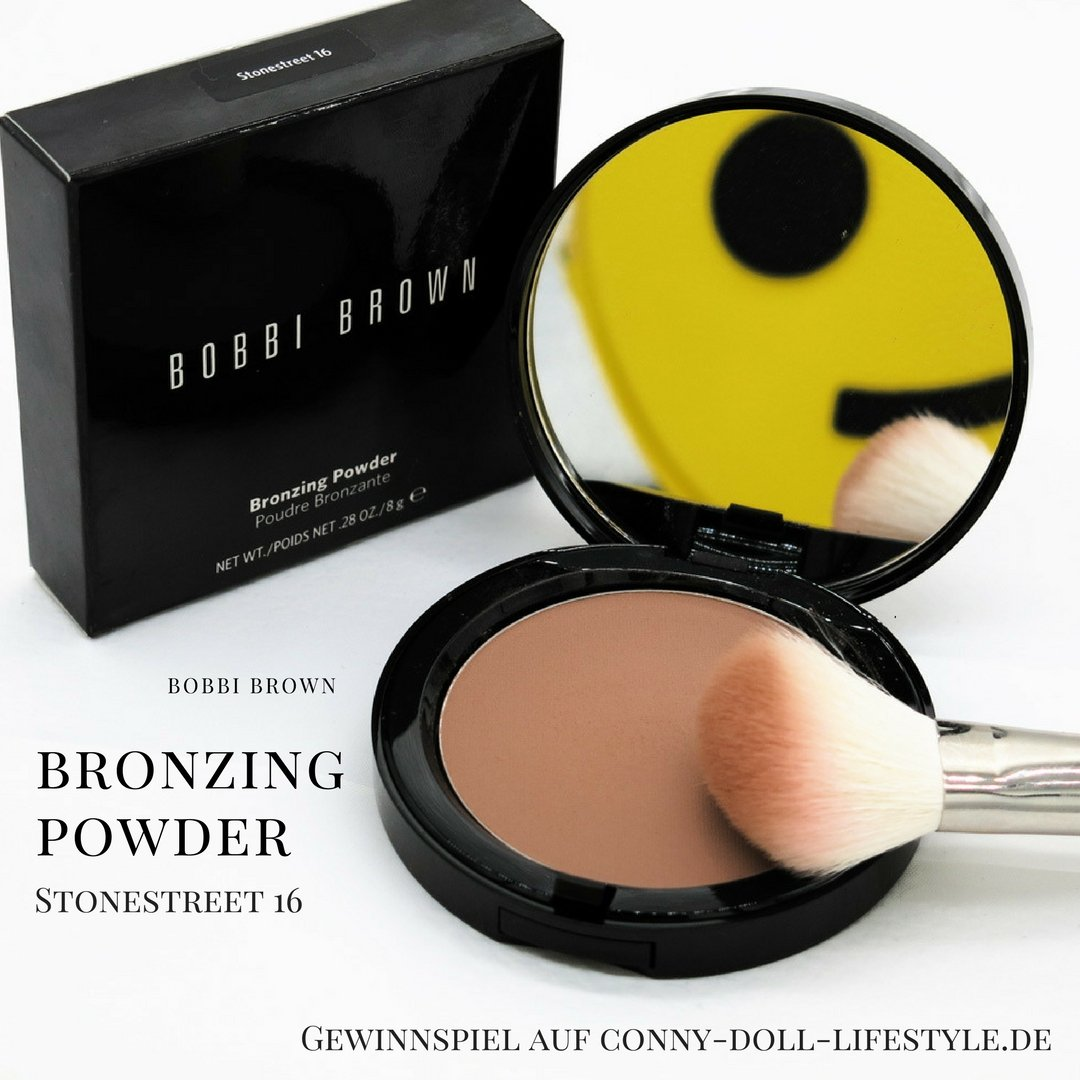 Conny-Doll-Lifestyle: Blog, Geburtstag, Bobbi Brown, Gewinnspiel, Powder, Bronzer,