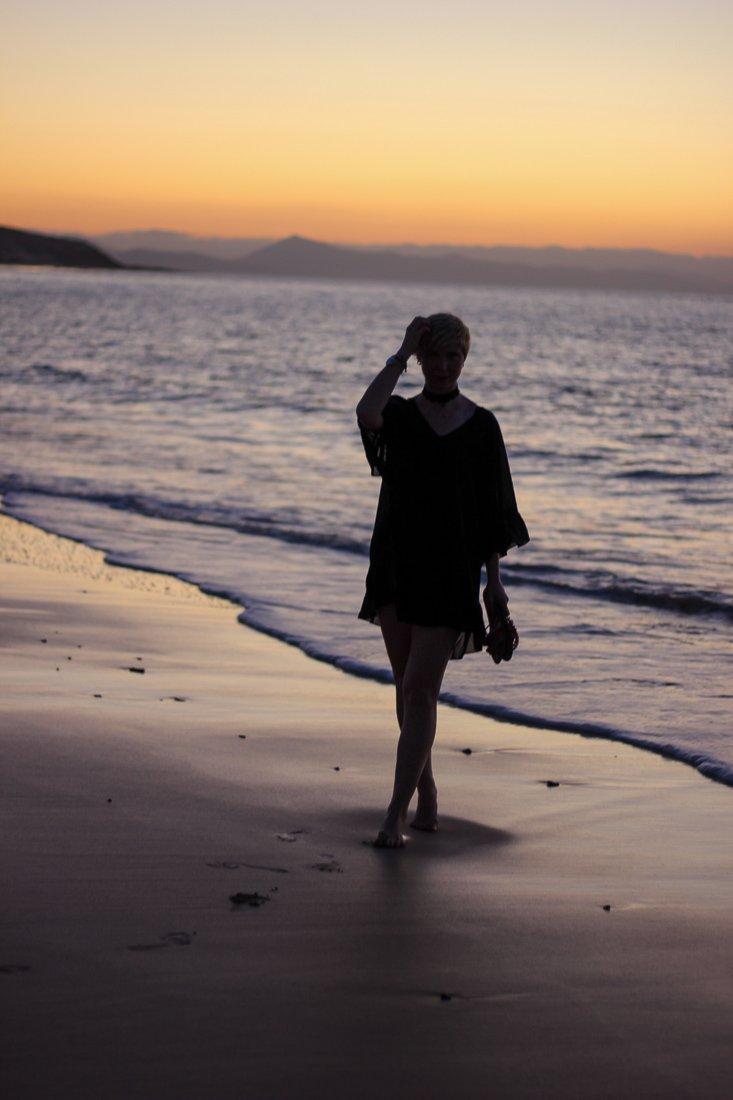 conny doll lifestyle: Fuerteventura, Sonnenaufgang, Schatten,