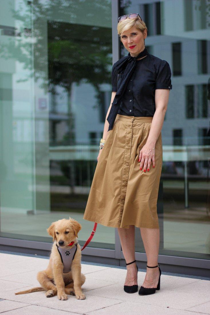 conny doll lifestyle: Auf den Hund gekommen - wir haben es uns angetan, Fashionblog mit Hund