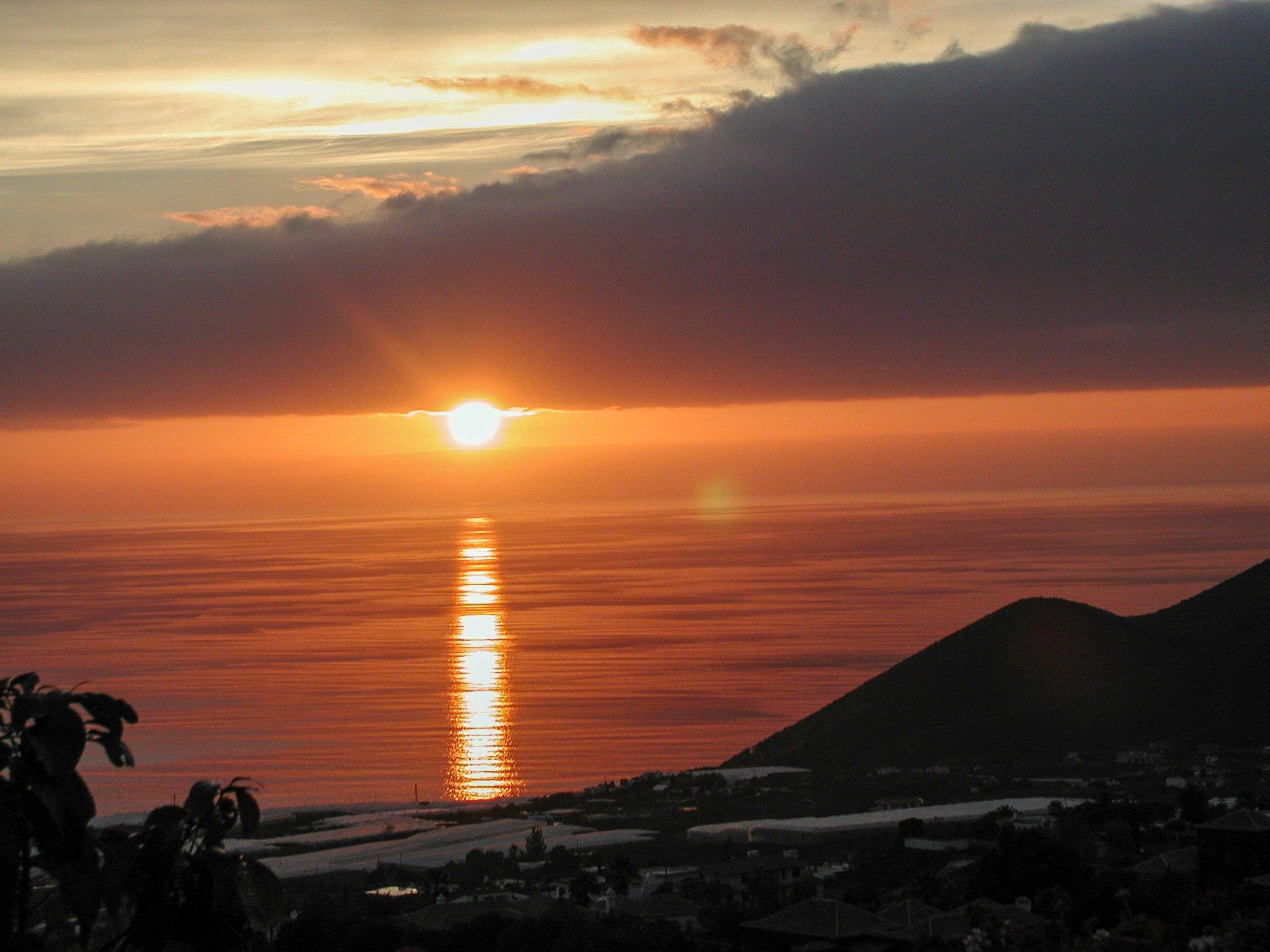 conny doll lifestyle: Sonnenuntergang auf La Palma