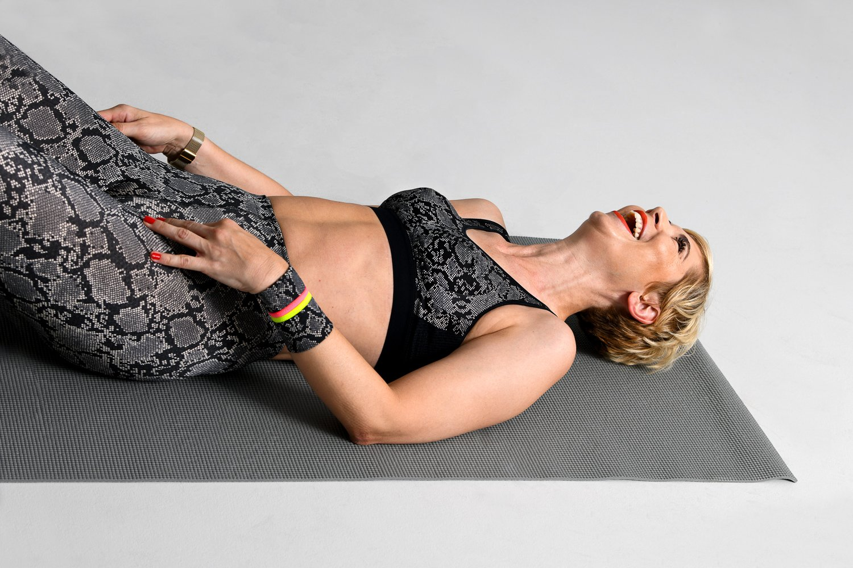 conny doll lifestyle: anita active tights massage, pythonstyle, sport-bh, fashionblog für frauen