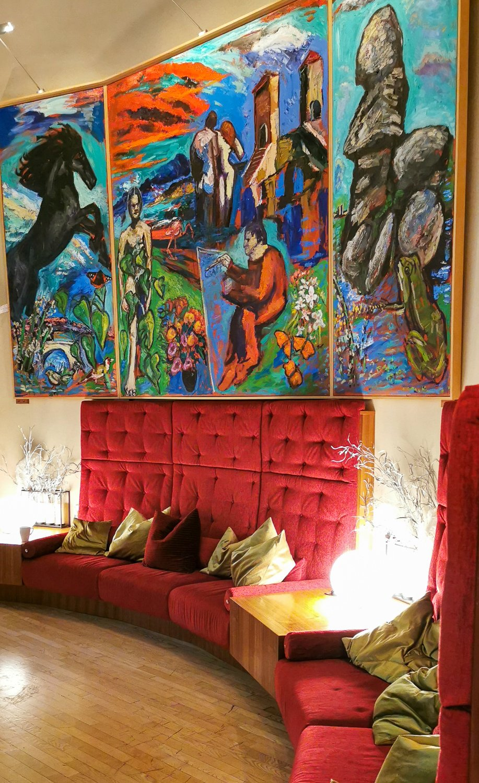 conny doll lifestyle: la pura women's health resort, wellness, gesundheit, teatime, boccacciasaal