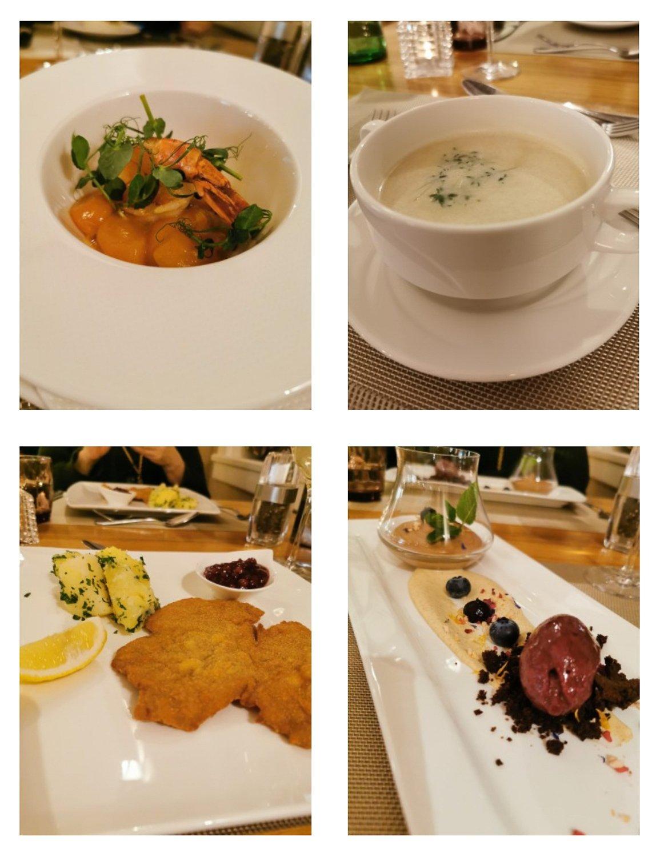 conny doll lifestyle: la pura, Abendessen, viergängemenue, gourmed küche