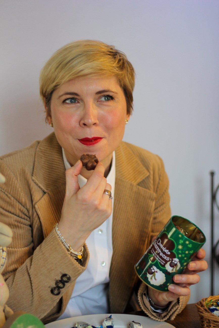 conny doll lifestyle: Fastenzeit bedeutet Vorfreude auf Süßes, Sharmrocks, Kleeblätter, irische Sweets, Spardose