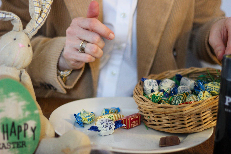 conny doll lifestyle: Fastenzeit, Ostern, britische Süßigkeiten, Osternest,