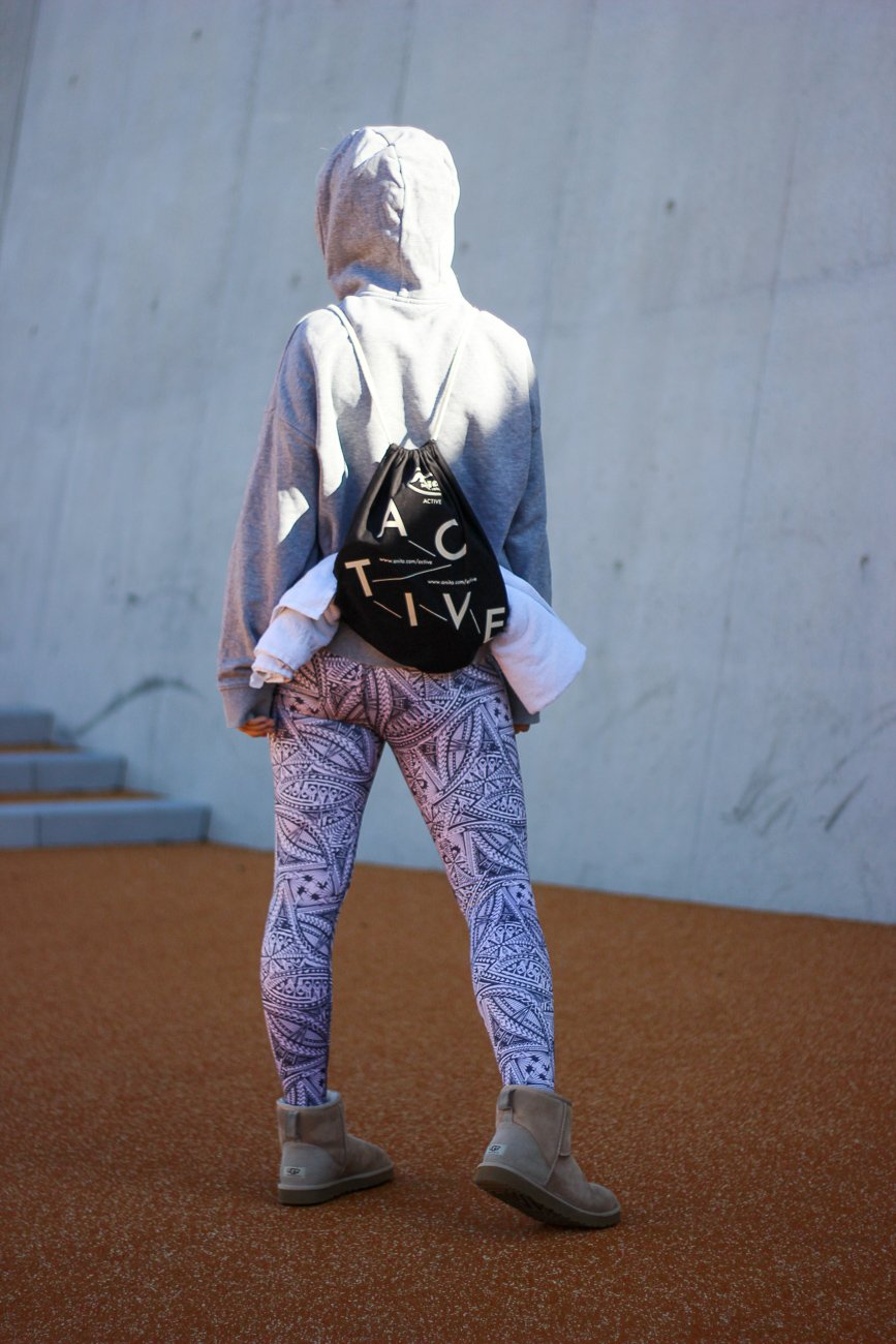 conny doll lifestyle: Hoodie, Anita Active, Tattoo-Edition, Sportswear