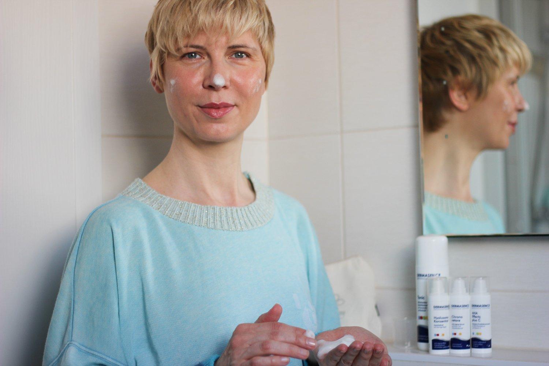 conny doll lifestyle: Müde Winterhaut? Mit Dermasence die reife Haut frühlingsfit pflegen