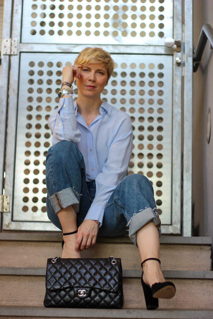 conny doll lifestyle: Weite Hosenbeine Boyfriend: Was beachte ich beim Styling?