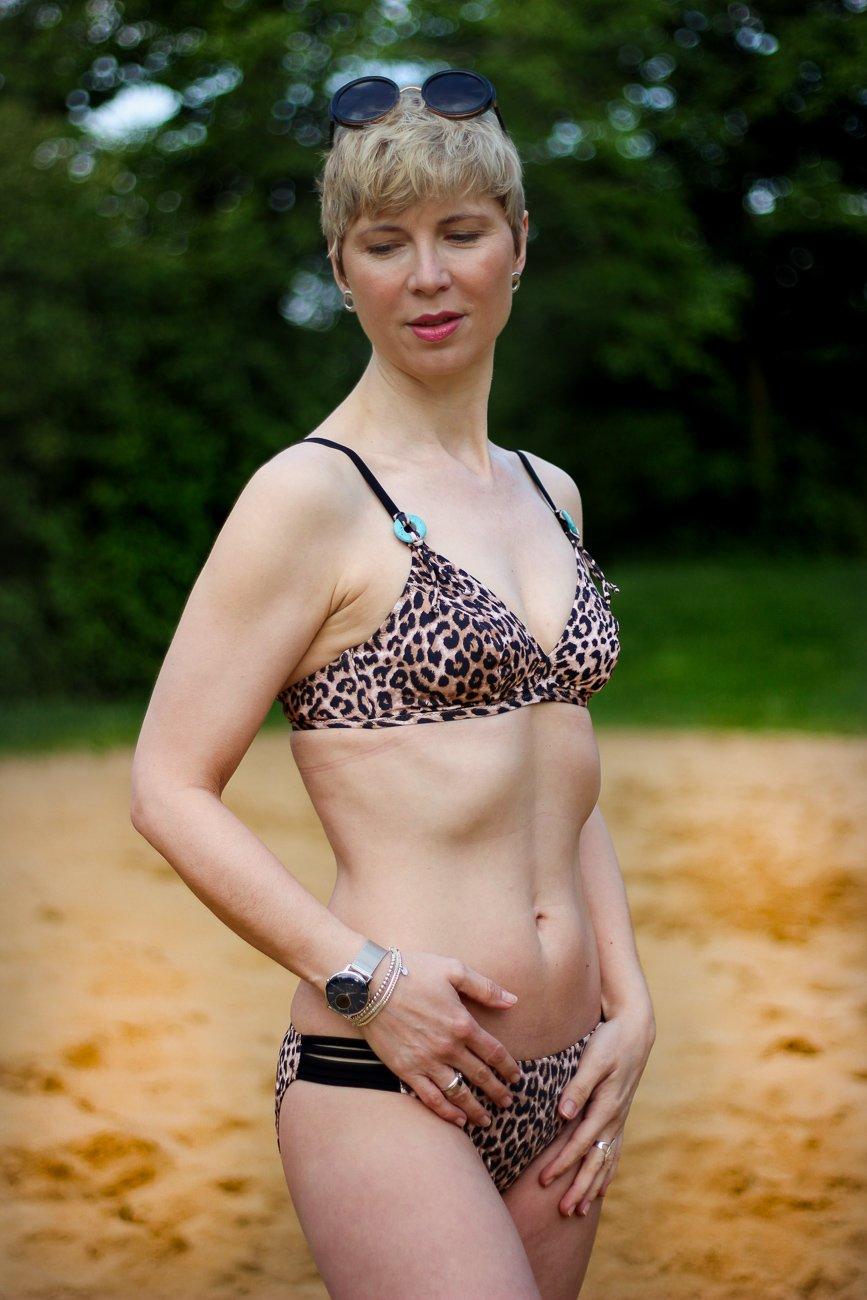 conny doll lifestyle: Animal Safari von Anita Details, Bikini Leoprint