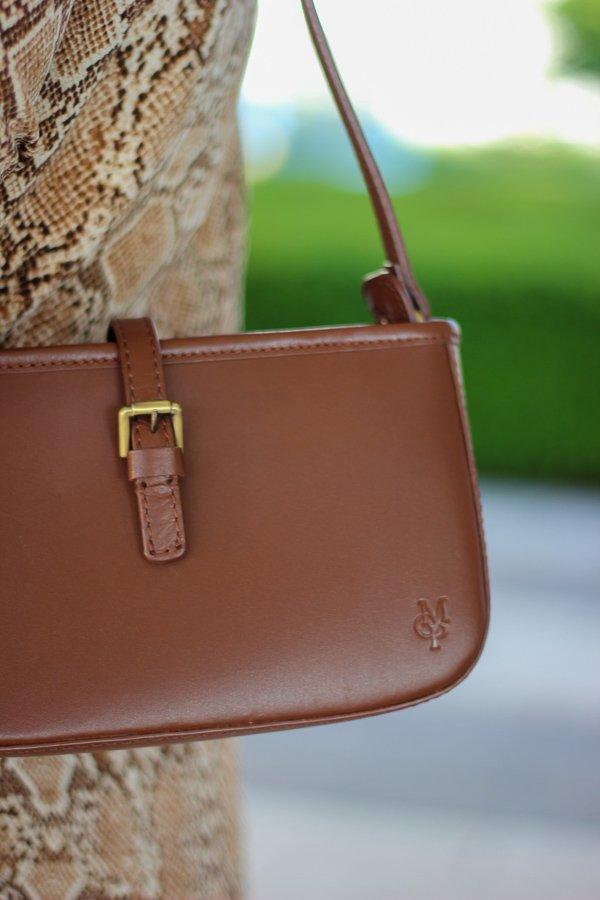 conny doll lifestyle: Blogpost über Corona und seine Auswirkungen, Details des Looks des Tages, Marco'Polo Tasche