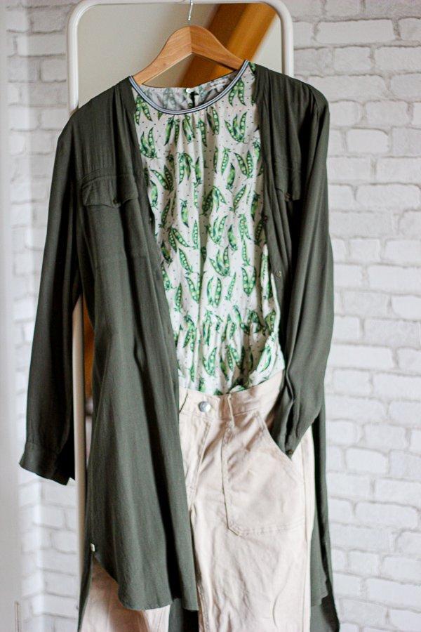 Conny doll lifestyle: Stylinginspiration, grüne mit hellen Tönen kombiniert