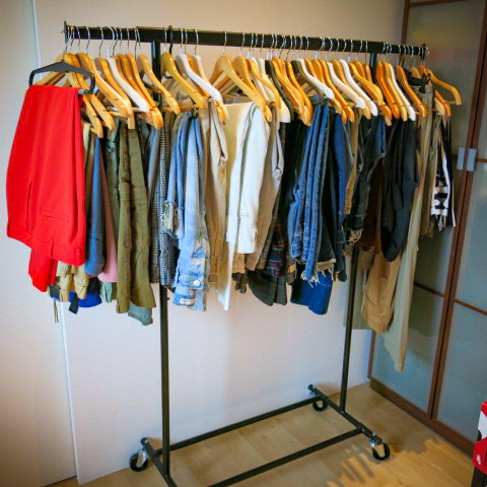 conny doll lifestyle: Hosen auf der Stange, Kleiderschrank-Check, Ordnung ist das halbe Chaos