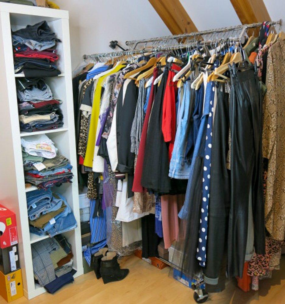 conny doll lifestyle: Kleiderschrank-Coaching mit Nicola Hahn