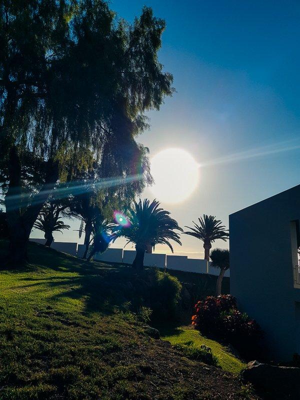 conny doll lifestyle: Fuerteventura, Urlaub 2019, blauer Himmel, Sonnenschein,